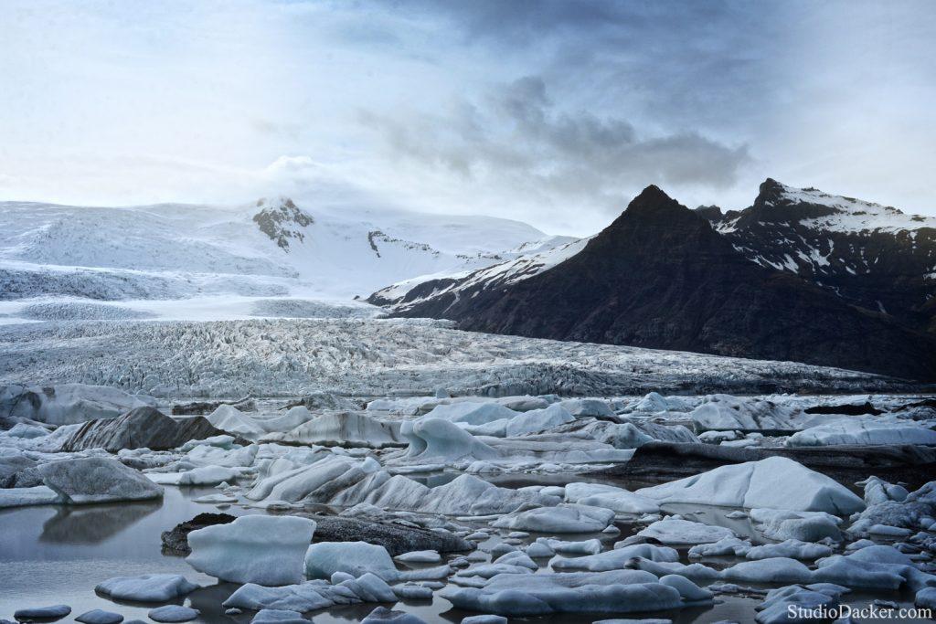 Fjasarlon lagon Islande