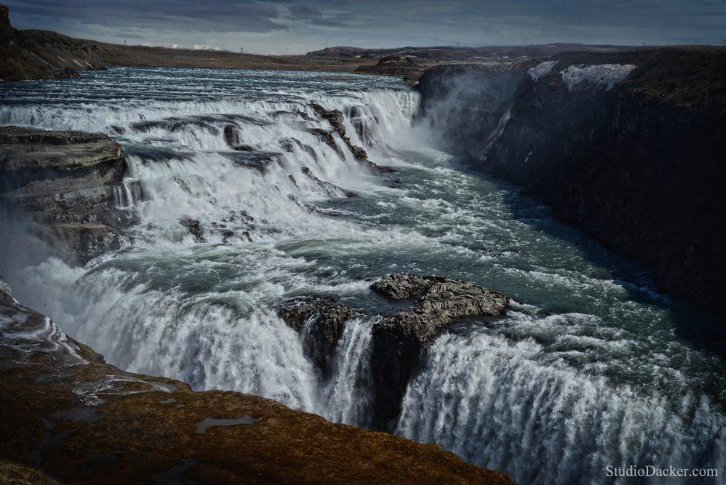 Cascade Gullfoss Islande