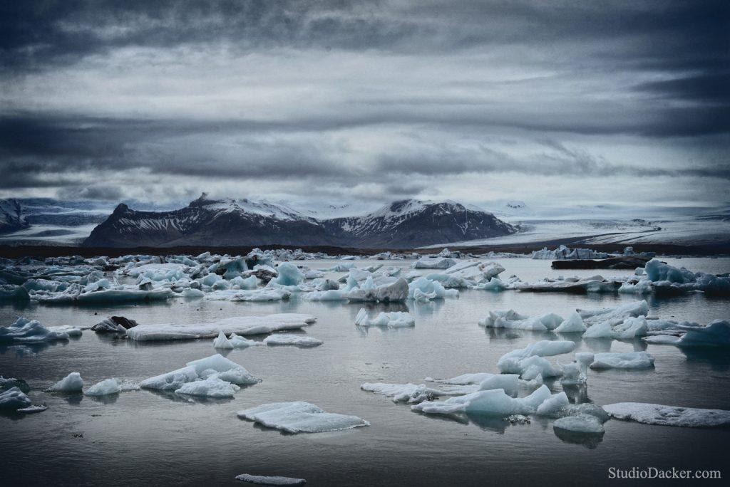 Lagon Jokulsarlon Islande