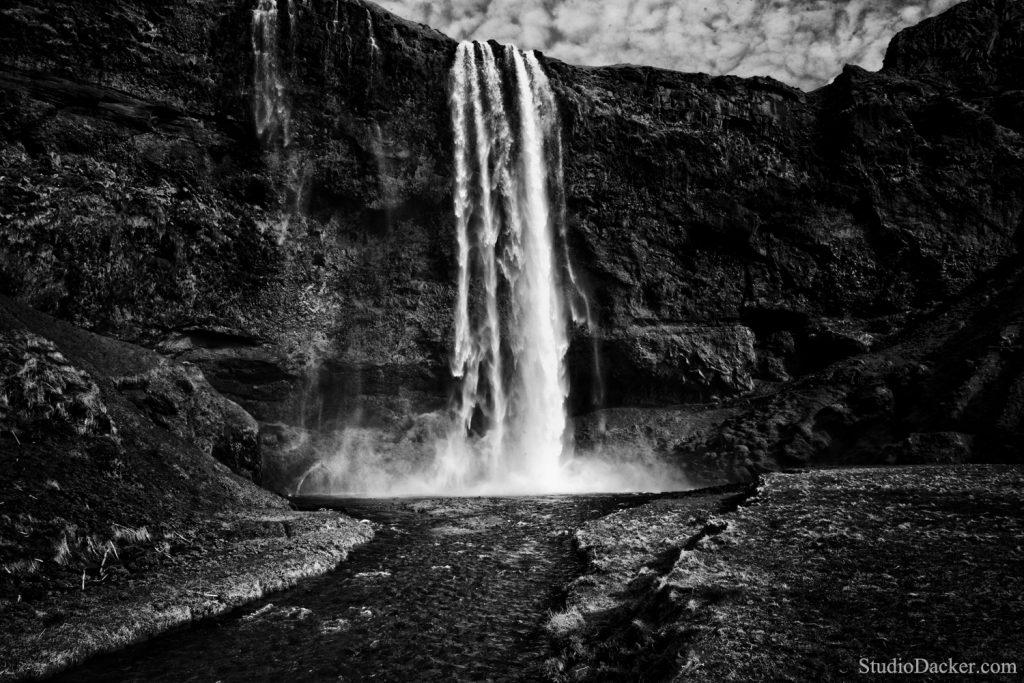 Seljalandsfoss cascade Islande waterfall