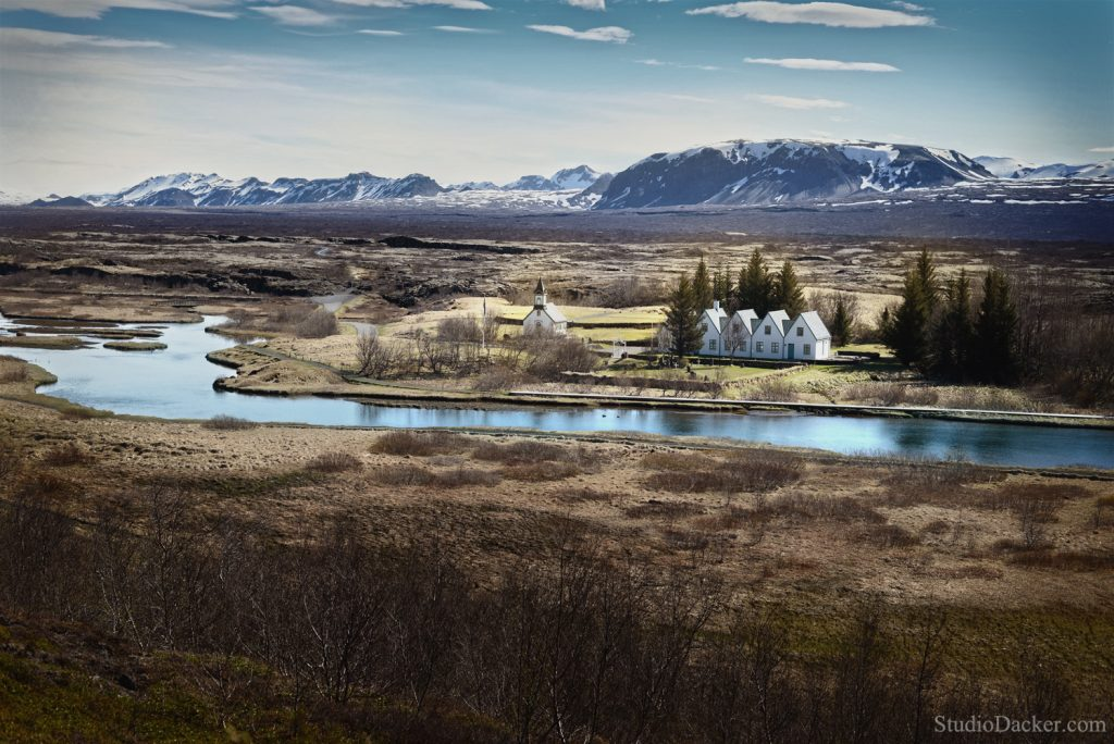 Thingvellir islande viking